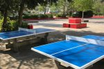 Draußen Tischtennisplatte 2